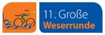 Der Radmarathon entlang der Weser